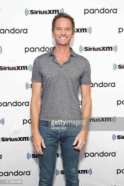 Actor/author Neil Patrick Harris visits the SiriusXM Studios on September 9, 2019 in New York City.