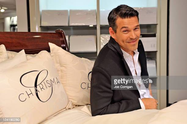 Actor/Charisma spokesperson Eddie Cibrian at Bloomingdale's 59th Street Store on September 8 2011 in New York City