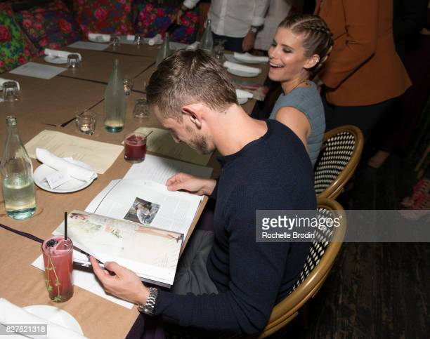 Actor/cinematographer Jamie Bell comments on how beautiful his wife's photos are at the Haute Living Celebrates Kate Mara with Westime cover party on...