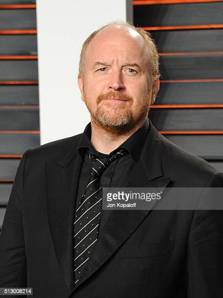 Actor/comdedian Louis CK attends the 2016 Vanity Fair Oscar Party hosted By Graydon Carter at Wallis Annenberg Center for the Performing Arts on...