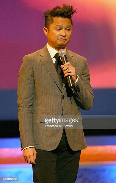 Actor/comedian Alec Mapa performs onstage during the 18th Annual GLAAD Media Awards at the Kodak Theatre on April 14 2007 in Los Angeles California