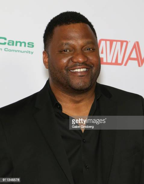Actor/comedian and cohost Aries Spears attends the 2018 Adult Video News Awards at the Hard Rock Hotel Casino on January 27 2018 in Las Vegas Nevada