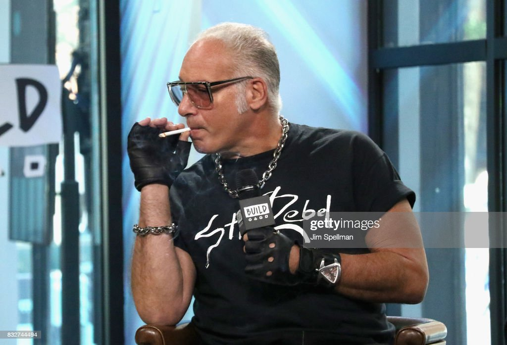 Actor/comedian Andrew Dice Clay attends Build to discuss his TV show 'Dice' at Build Studio on August 16, 2017 in New York City.