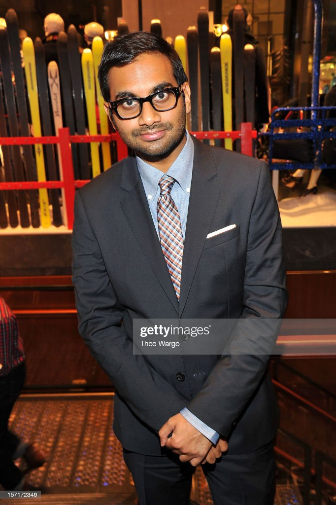 Actor/comedian Aziz Ansari attends Tommy Hilfiger & GQ celebrate Men of New York at the 5th Avenue Flagship on November 29, 2012 in New York City.
