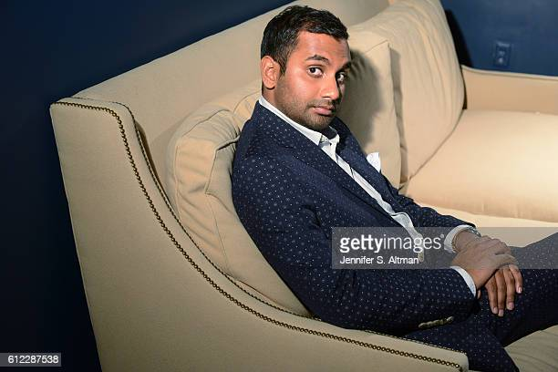 Actor/comedian Aziz Ansari is photographed for Los Angeles Times on July 18, 2016 in Brooklyn, New York. PUBLISHED IMAGE.