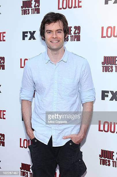 Actor/comedian Bill Hader attends the premiere of 'Louie' at Carolines On Broadway on June 21 2010 in New York City