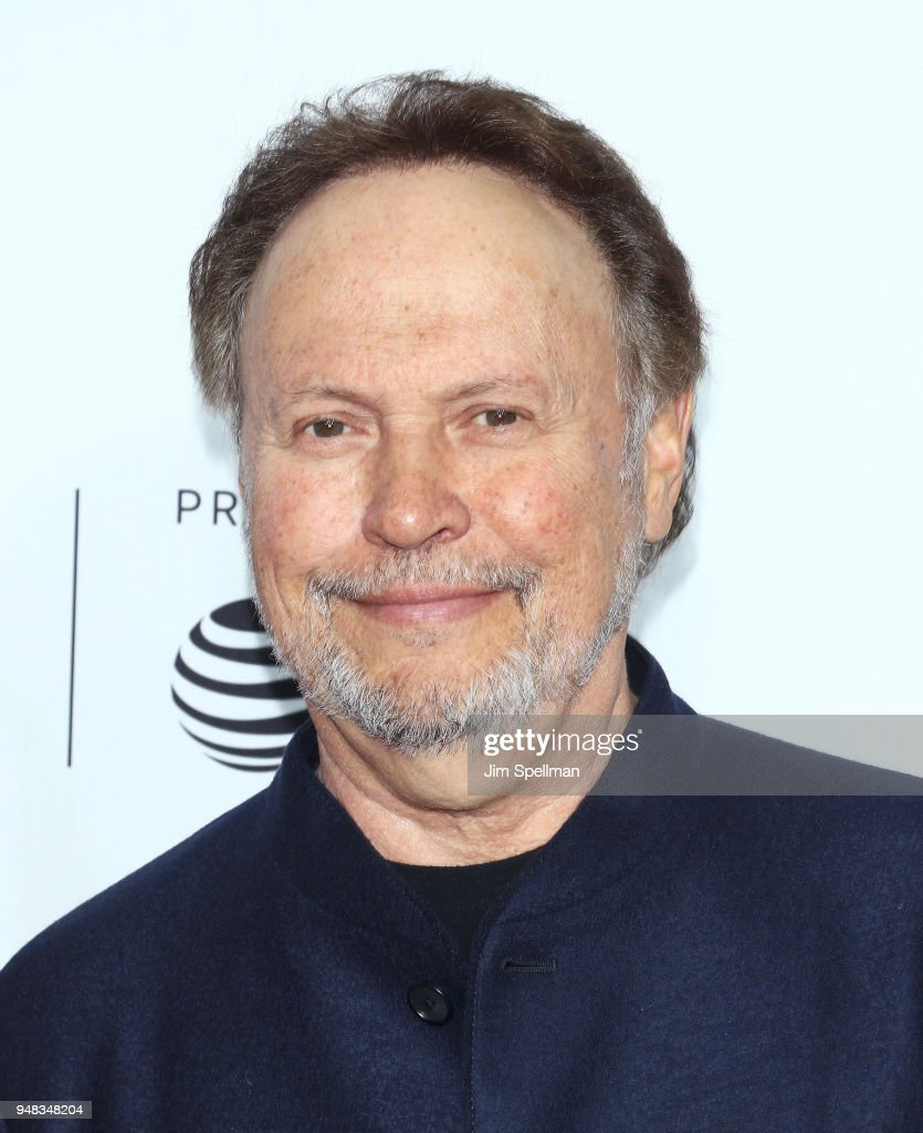 Actor/comedian Billy Crystal attends the 2018 Tribeca Film Festival opening night premiere of 'Love, Gilda' at Beacon Theatre on April 18, 2018 in New York City.