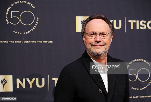 Actor/comedian Billy Crystal attends the NYU Tisch School of the Arts 50th Anniversary Gala at Frederick P Rose Hall Jazz at Lincoln Center on April...