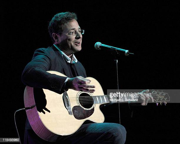 Actor/Comedian Bob Saget performs at 'A Night Of Comedy VII' Benefiting The Children Affected By AIDS Foundation at The Wilshire Theatre on March 14...