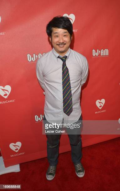 Actor/comedian Bobby Lee attends the 2013 MusiCares MAP Fund Benefit Concert honoring Chester Bennington and Tony Alva at Club Nokia on May 30 2013...