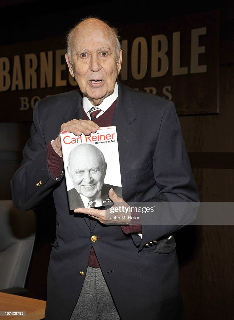 "Carl Reiner Book Signing For ""I Remember Me"""