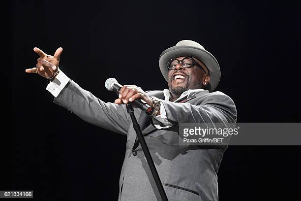 Actor/Comedian Cedric the Entertainer performs onstage during 2016 Soul Train Music Awards Soul Train presents The Comedy Get Down on November 5 2016...