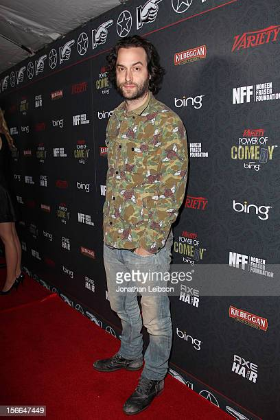 Actor/comedian Chris D'Elia arrives at Variety's 3rd annual Power of Comedy event presented by Bing benefiting the Noreen Fraser Foundation held at...