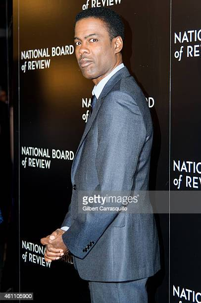 Actor/comedian Chris Rock attends the 2014 National Board of Review Gala at Cipriani 42nd Street on January 6 2015 in New York City