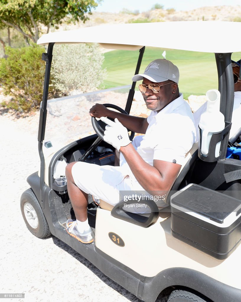 Actor/comedian Chris Tucker attends the Coach Woodson Las Vegas Invitational at Cascata Golf Club on July 9, 2017 in Boulder City, Nevada.