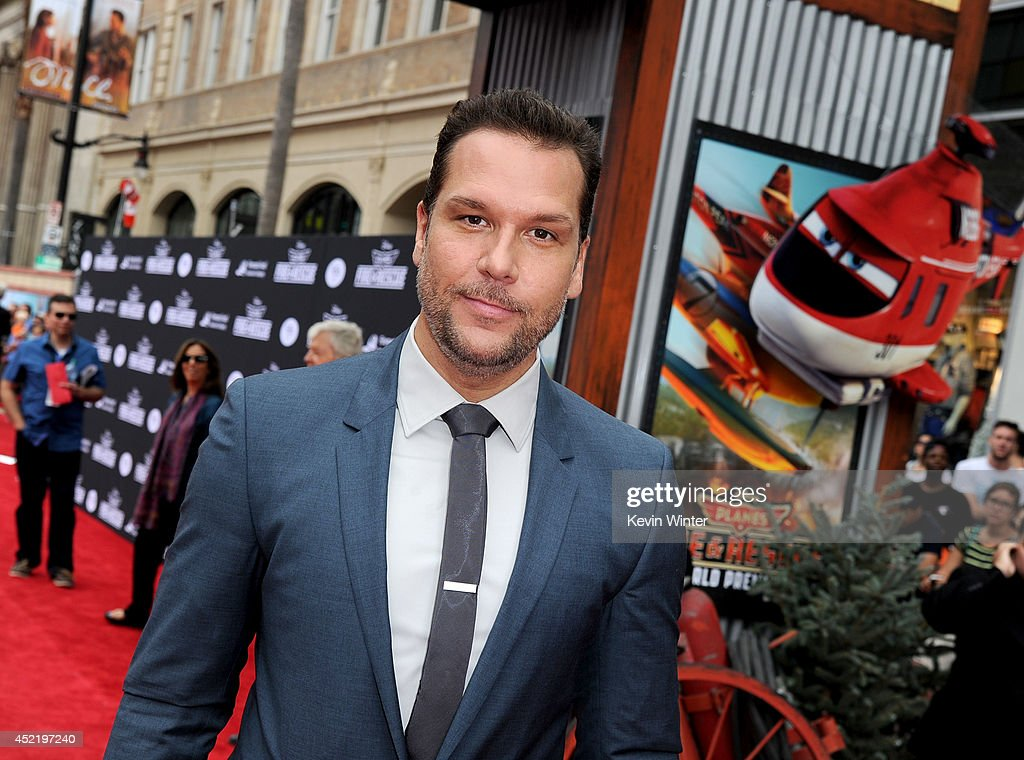 Actor/comedian Dane Cook attends the premiere of Disney's 'Planes: Fire & Rescue' at the El Capitan Theatre on July 15, 2014 in Hollywood, California.