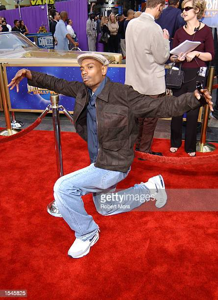 Actor/comedian Dave Chappelle attends the world premiere screening of Universal Pictures'' Undercover Brother at Loews Cineplex Universal Studios...