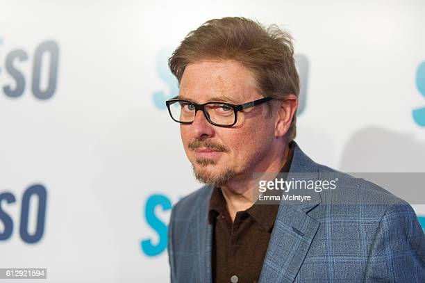 Actor/comedian Dave Foley arrives at the Seeso original screening of 'Bajillion Dollar Properties' season 2 at Ace Hotel on October 5 2016 in Los...