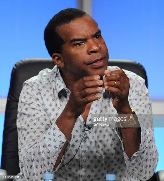 Actor/Comedian David Alan Grier of The Chocolate News speaks during the 2008 Summer Television Critics Association Press Tour for MTVN held at the...