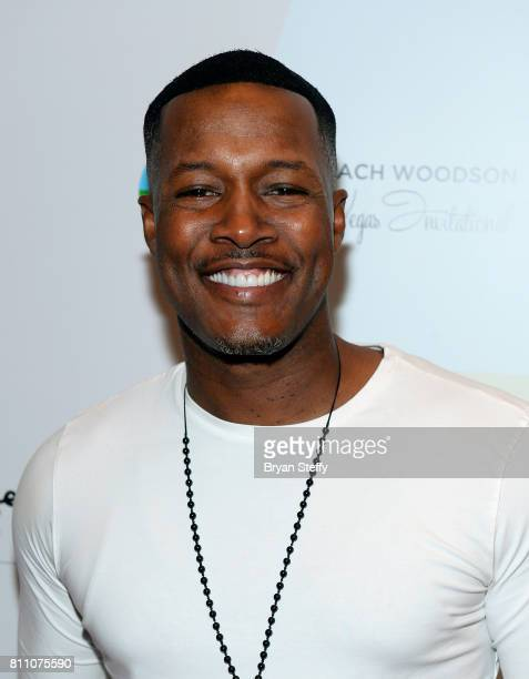 Actor/comedian Flex Alexander arrives at the Coach Woodson Las Vegas Invitational red carpet and pairings gala at 1 OAK Nightclub at The Mirage Hotel...