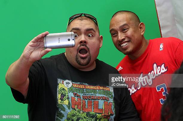Actor/comedian Gabriel Iglesias attends RCA's Made For Moments Holiday Campaign at Glendale Galleria on December 12 2015 in Glendale California