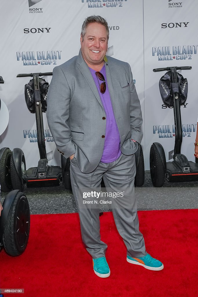 Actor/comedian Gary Valentine Arrives For The U0027Paul Blart: Mall Cop 2u0027