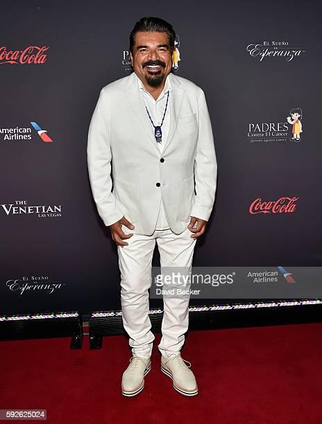 Actor/comedian George Lopez attends the Padres Contra El Cancer's 16th annual El Sueno de Esperanza celebration at The Venetian Las Vegas on August...