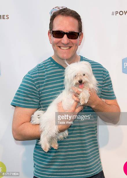 Actor/comedian Greg Benson attends SoulPancake's Puppypalooza Party at SoulPancakes Headquarters on March 23 2016 in Los Angeles California