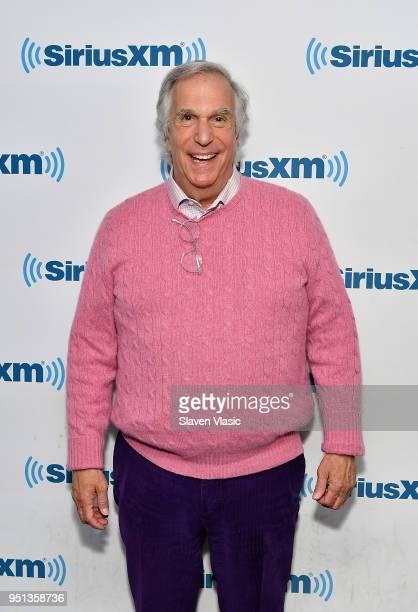 Actor/comedian Henry Winkler visits SiriusXM Studios on April 25 2018 in New York City