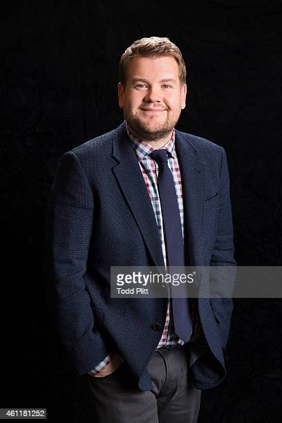 Actor/comedian James Corden is photographed for USA Today on November 23 2014 in New York City