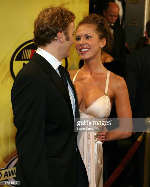 Actor/Comedian Jay Mohr and Actress Nikki Cox arrive at the 2006 NASCAR nextel Cup Series Awards Banque held in the main Ballroom of the Waldorf...