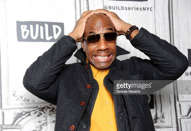 Actor/comedian JB Smoove visits Build to discuss his new book 'The Book of Leon Philosophy of A Fool' at Build Studio on October 24 2017 in New York...
