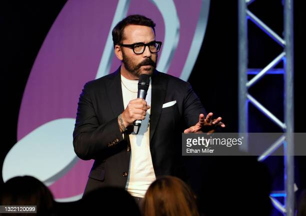 """Actor/comedian Jeremy Piven performs his stand-up comedy routine during the """"One Night Only of Great Comedy"""" show at Notoriety at Neonopolis on June..."""