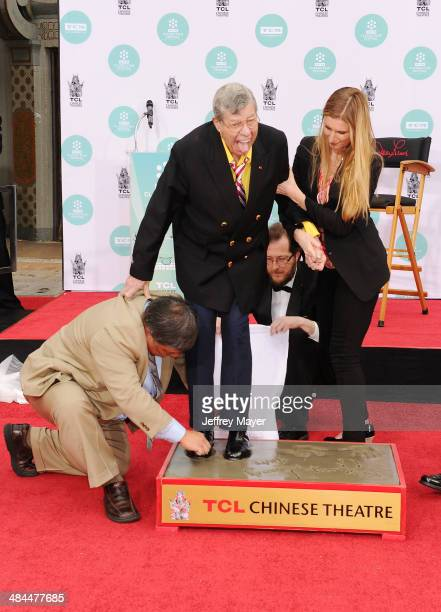 Actor/comedian Jerry Lewis attends the 2014 TCM Classic Film Festival Jerry Lewis Hand And Footprint Ceremony at TCL Chinese Theatre IMAX on April 12...