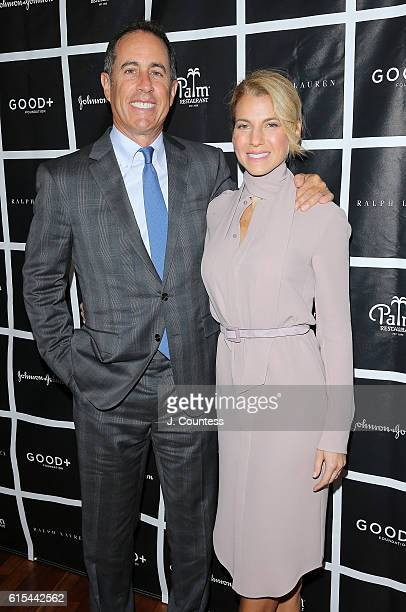 Actor/comedian Jerry Seinfeld and founder of the GOOD Foundation Jessica Seinfeld attend the 2016 Foundation Good New York Fatherhood Luncheon at The...