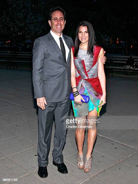 Actor/comedian Jerry Seinfield and wife Jessica Seinfeld attends the Vanity Fair Celebrates The 2010 Tribeca Film Festival at New York State Supreme...