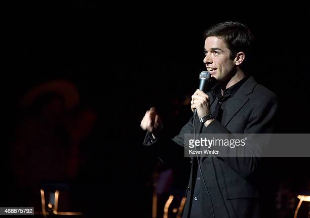 Actor/comedian John Mulaney performs onstage during The David Lynch Foundation's DLF Live Celebration of the 60th Anniversary of Allen Ginsberg's...