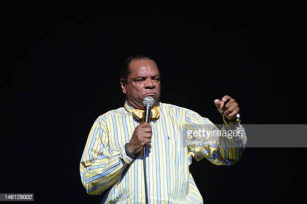 Actor/Comedian John Witherspoon performs during the 5th Annual Memorial Weekend Comedy Festival at James L Knight Center on May 27, 2012 in Miami,...
