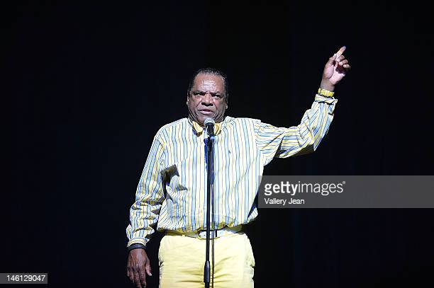 Actor/Comedian John Witherspoon performs during the 5th Annual Memorial Weekend Comedy Festival at James L Knight Center on May 27 2012 in Miami...