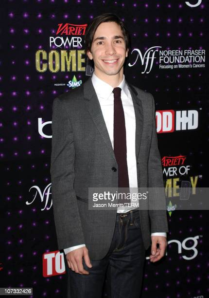 Actor/comedian Justin Long arrives at Variety's Power of Comedy presented by Sims 3 in Partnership with Bing at Club Nokia on December 4, 2010 in Los...