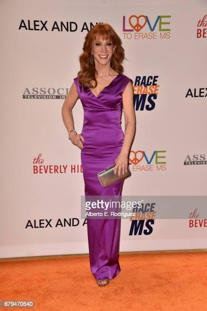 Actor/comedian Kathy Griffin attends the 24th Annual Race To Erase MS Gala at The Beverly Hilton Hotel on May 5 2017 in Beverly Hills California