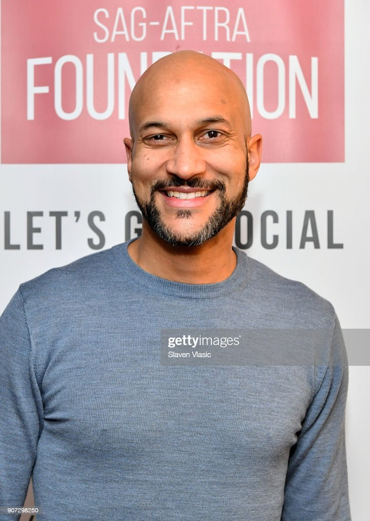 Actor/comedian Keegan-Michael Key attends 'SAG-AFTRA Foundation Conversations on Broadway: Keegan-Michael Key' at The Robin Williams Center on January 19, 2018 in New York City.