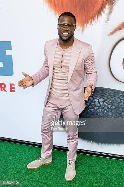 Actor/comedian Kevin Hart attends 'Secret Life Of Pets' New York Premiere on June 25 2016 in New York City