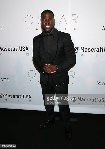 Actor/comedian Kevin Hart attends the 2016 Oscar Salute Hosted By Kevin Hart Academy Awards Screening And AfterParty at W Hollywood on February 28...