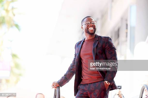 Actor/comedian Kevin Hart is honored with a star on the Hollywood Walk of Fame on October 10 2016 in Hollywood California