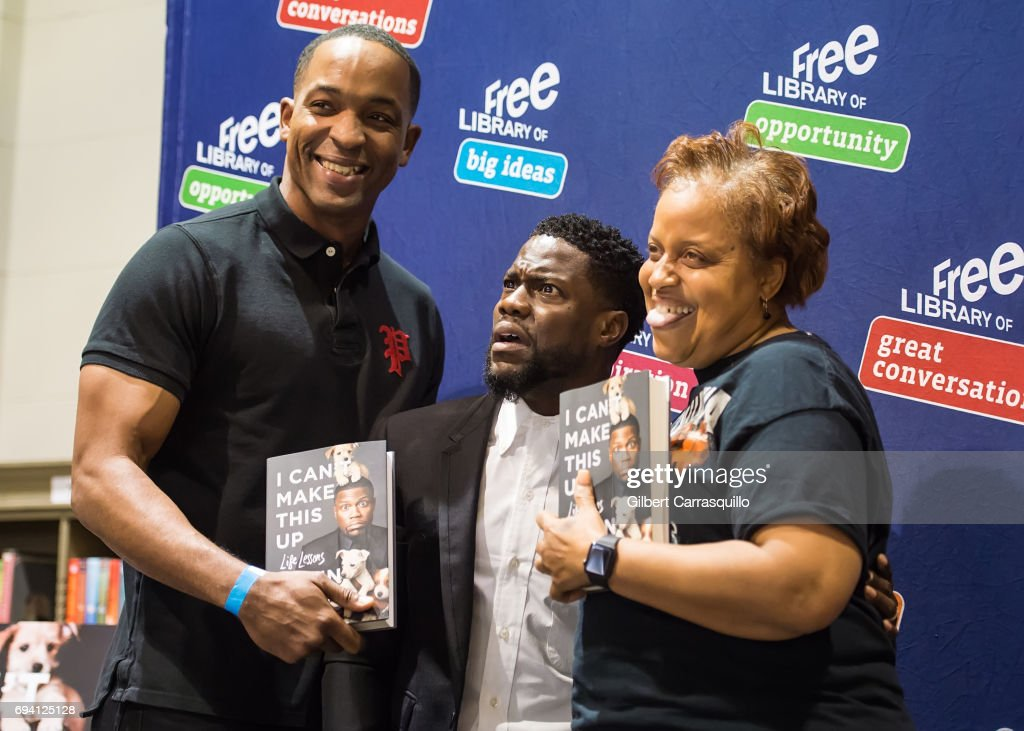 Kevin hart fan meet and greet photos and images getty images actorcomedian kevin hart meet and greet with fans to promote his new book m4hsunfo