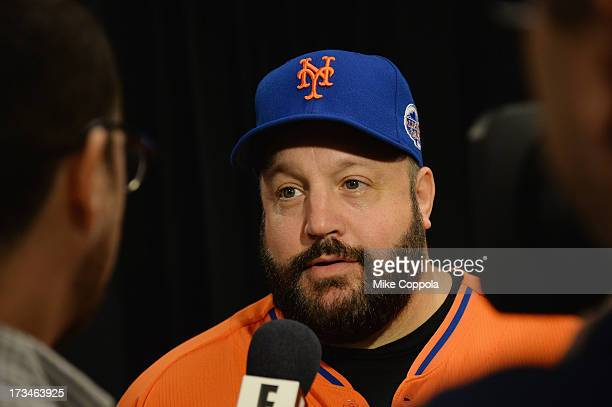 Actor/comedian Kevin James attends the Taco Bell AllStar Legends Celebrity Softball Game at Citi Field on July 14 2013 in New York City
