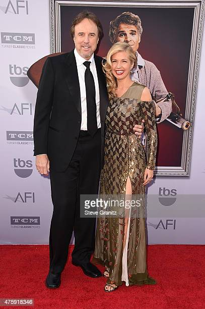 Actor/comedian Kevin Nealon and actress Susan Yeagley attend American Film Institute's 43rd Life Achievement Award Gala Tribute to Steve Martin at...