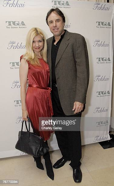 Actorcomedian Kevin Nealon and wife actress Susan Yeagley attends the Gersh Agency preEmmy party cohosted by hairstylist Frederic Fekkai at The...