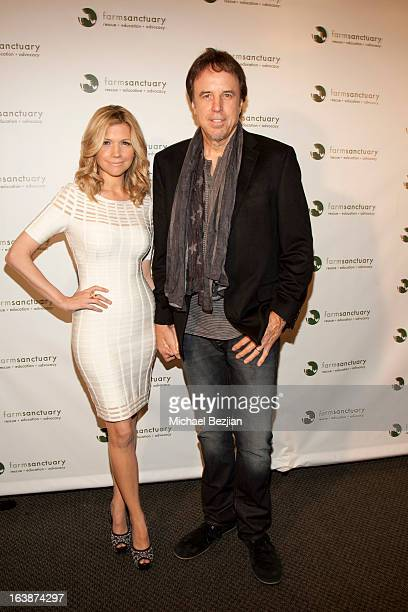Actor/Comedian Kevin Nealon with wife attends Fun For Animals Celebrity Poker Tournament and Cocktail Party at Petersen Automotive Museum on March 16...